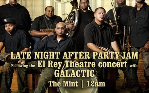 soul rebels brass band mint la midnight show