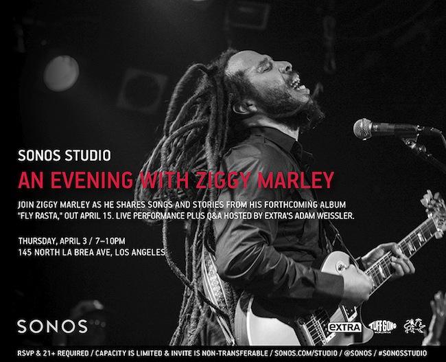 sonos-studio-la-ziggy-marley-fly-rasta-tickets-rsvp