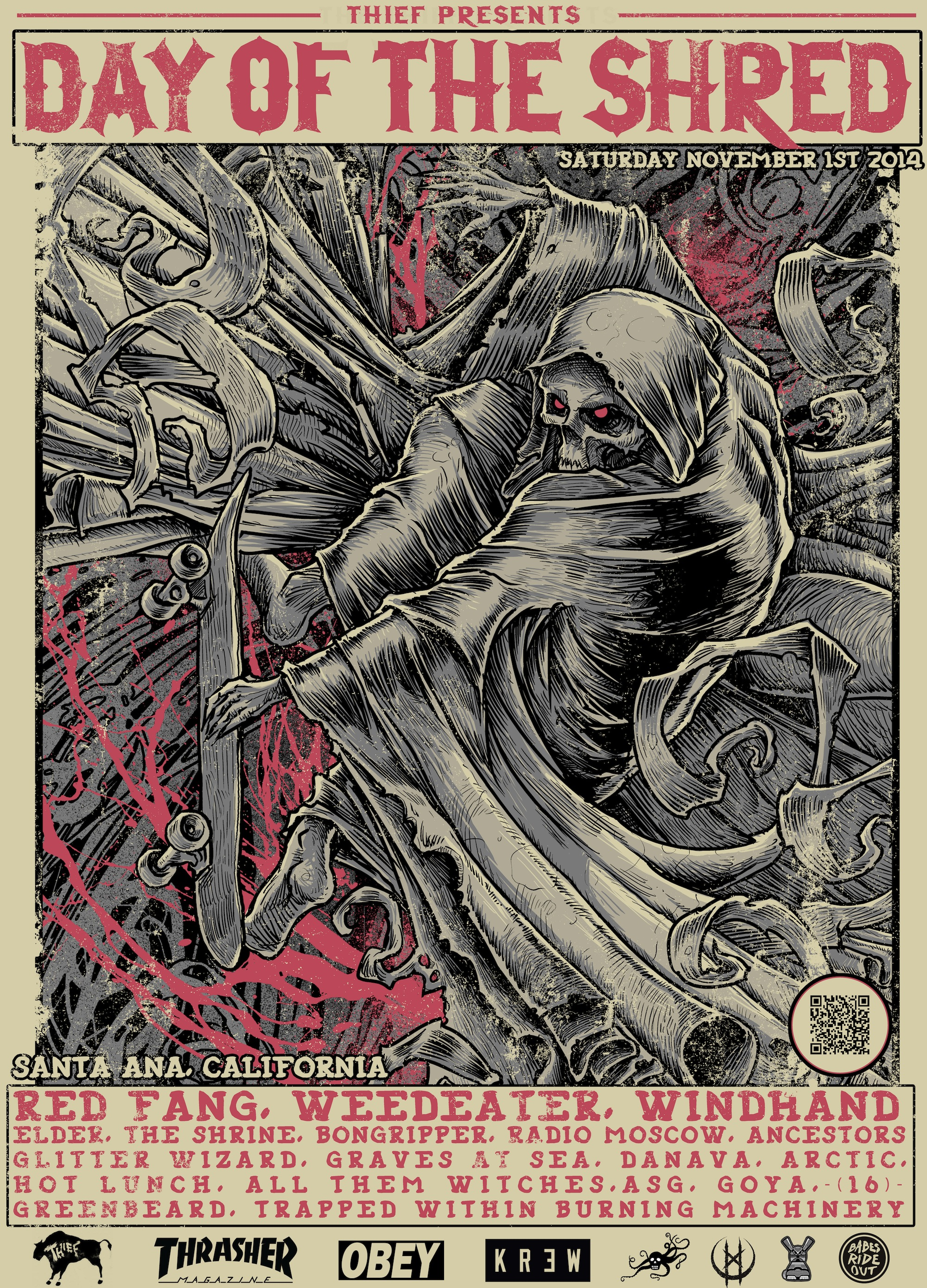 Day-Of-The-Shred-Festival-Lineup-2014-Rabbits-Black