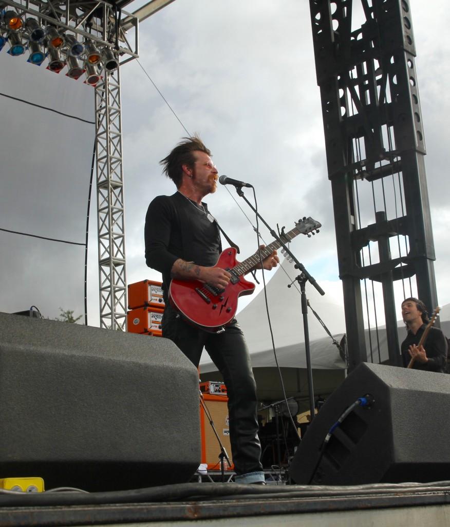 Jesse Hughes Eagles of Death Metal Riot Fest Chicago 2015 Review Festival