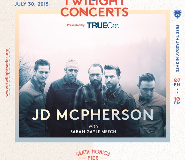 Show Alert: JD McPherson @ Santa Monica Pier 7/30