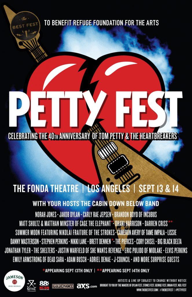 PettyFest Poster