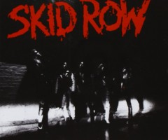 Skid Row Debut Album Cover